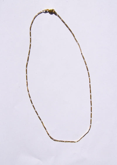 Mini Abuelo Chain Gold Necklace