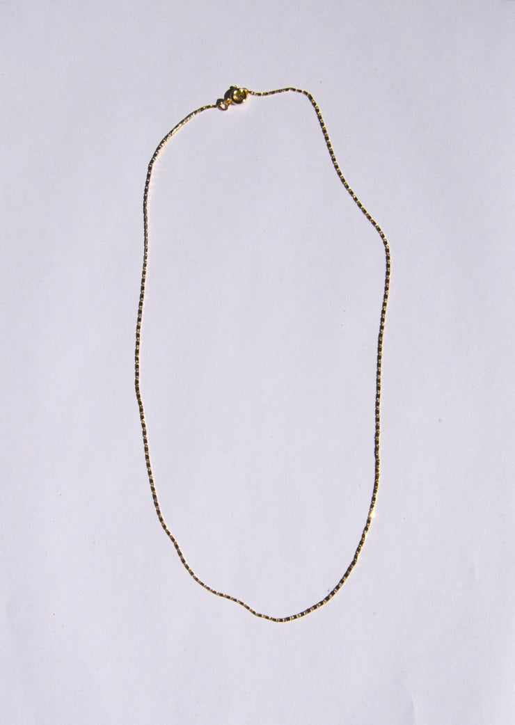 Mini Amar Chain Gold Necklace