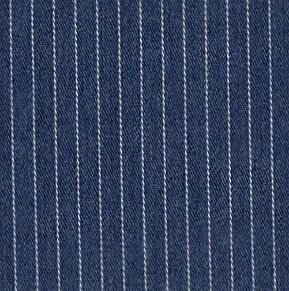 Face Mask with filter pocket & nose wire (Denim Stripe)