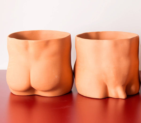 GroupPartner Terracotta Bottoms Planter
