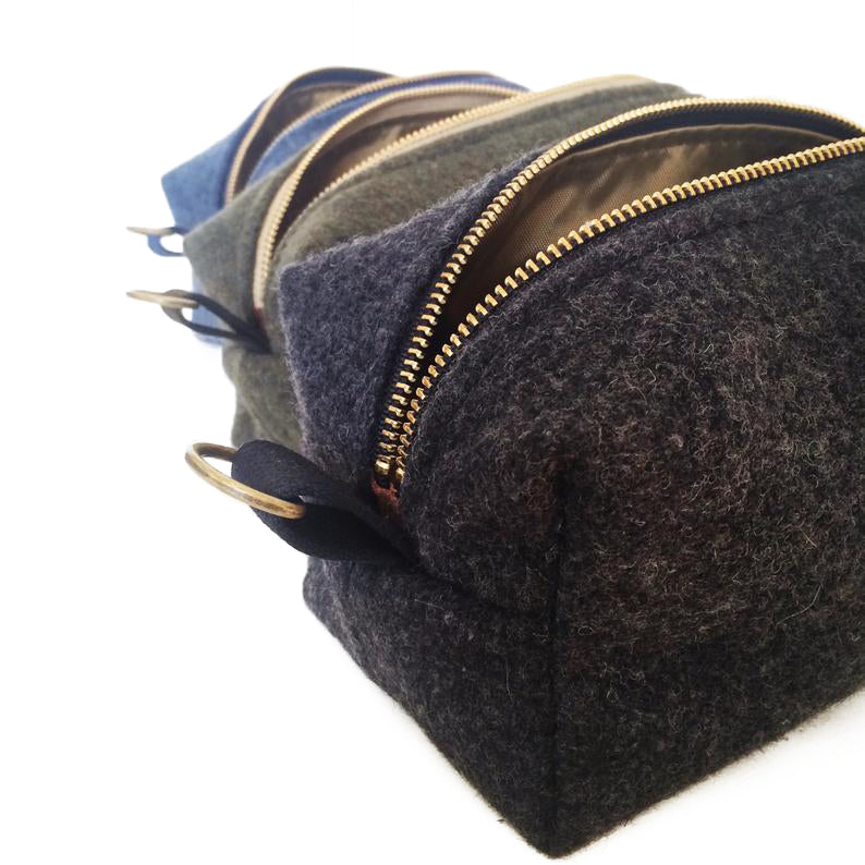 Dopp Kits Military Dopp Kit Military Blanket Dopp Charcoal Gray Olive Green Navy Blue