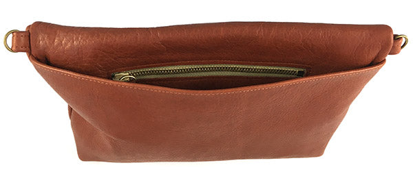 "Medium Crossbody Purse – ""The Betty"" (solid leather)"