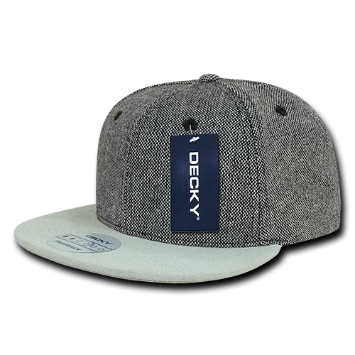 SALT AND PEPPER SNAPBACK