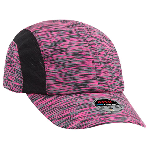 PERFORMANCE SIX PANEL POLYESTER JERSEY CAP
