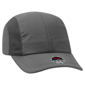 PERFORMANCE SIX PANEL TEXTURED POLYESTER CAP
