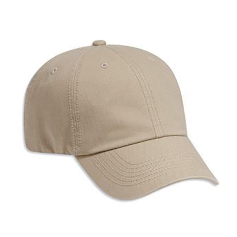 SIX PANEL DELUXE WASHED COTTON TWILL CAP