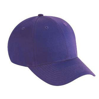 SIX PANEL COTTON TWILL CAP