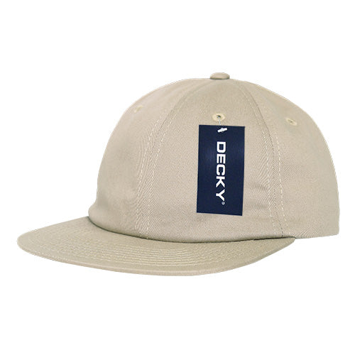 RELAXED FLAT PEAK COTTON CAP