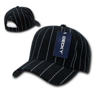 PIN STRIPE ADJUSTABLE CAP