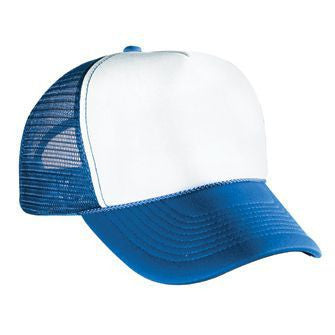 FIVE PANEL POLY FOAM MESH BACK CAP