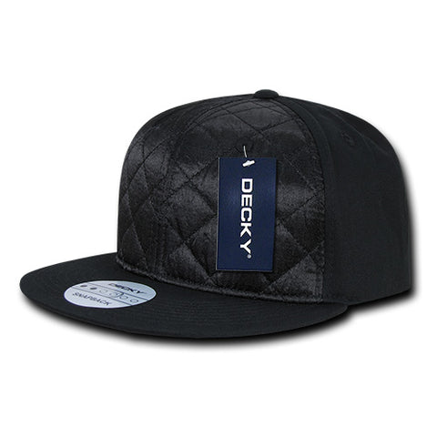 QUILTED SNAPBACK