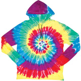 CYCLONE TIE DYE HOODED T-SHIRT