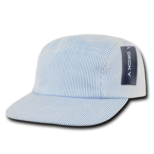 FIVE PANEL SEERSUCKER RACER CAP