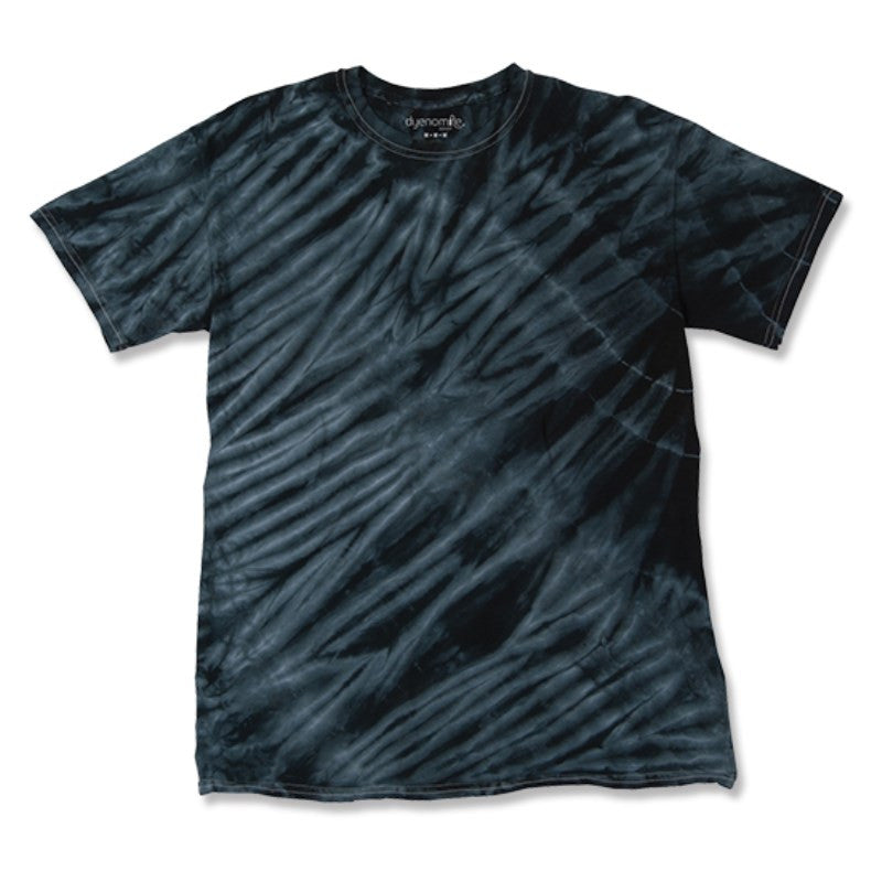 TIGER STRIPE TIE DYE T-SHIRT