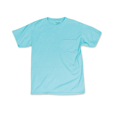 GARMENT DYED - POCKET VINTAGE PIGMENT T-SHIRT