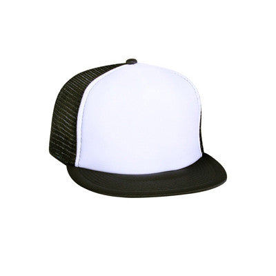 FIVE PANEL HIGH CROWN GOLF MESH CAP