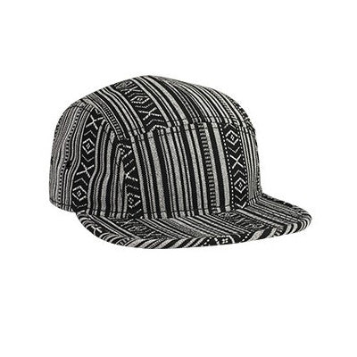 FIVE PANEL AZTEC CAMPER CAP