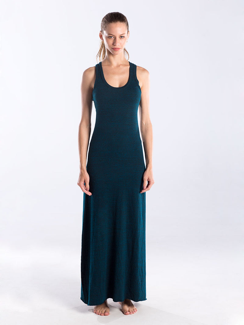 WOMEN'S RACER BACK DRESS - OVERDYED