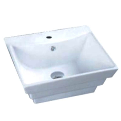 Baron Designer Basin 0706 - TOP Mount / Wall Hung - Domaco