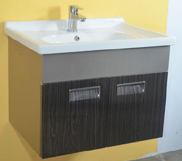 MAYFAIR 1012 #304 STAINLESS STEEL BASIN CABINET