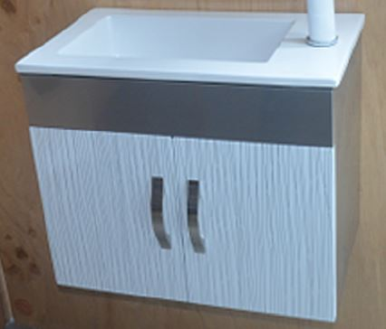 MAYFAIR 1308 #304 STAINLESS STEEL BASIN CABINET (29900)<br>*Contact us for best price - Domaco