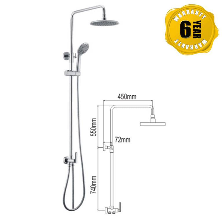 NTL Rain Shower 3006 (15880)<br>*Contact us for best price - Domaco