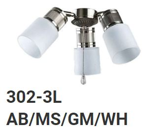 Fanco Light Kit - 302-3L - Domaco