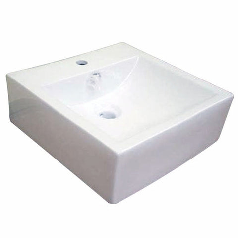 Baron Designer Basin 7019 - TOP Mount/ Wall Hung - Domaco