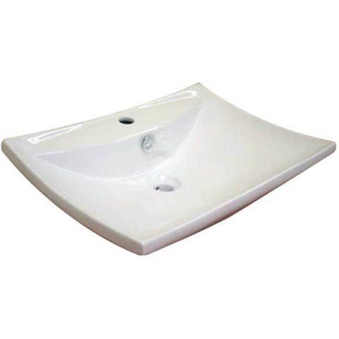 Baron Designer Basin 7032 - TOP Mount/ Wall Hung - Domaco