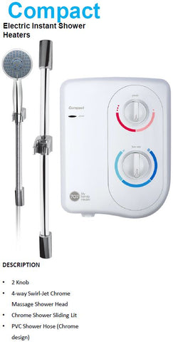 707 Compact Instant Water Heater (18480)<br>*Contact us for best price - Domaco