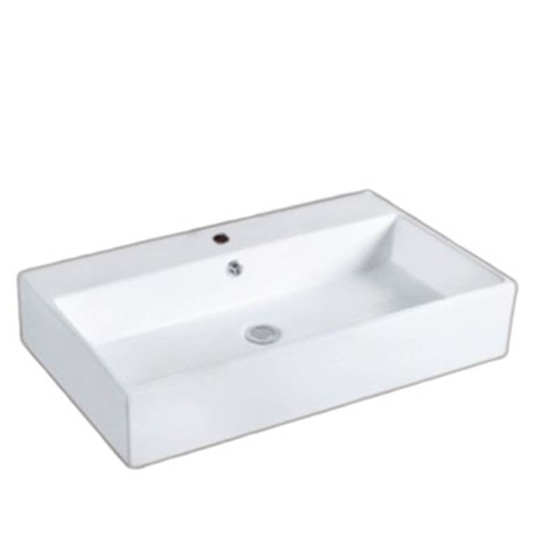 Baron Designer Basin A174 - TOP Mount/ Wall Hung - Domaco
