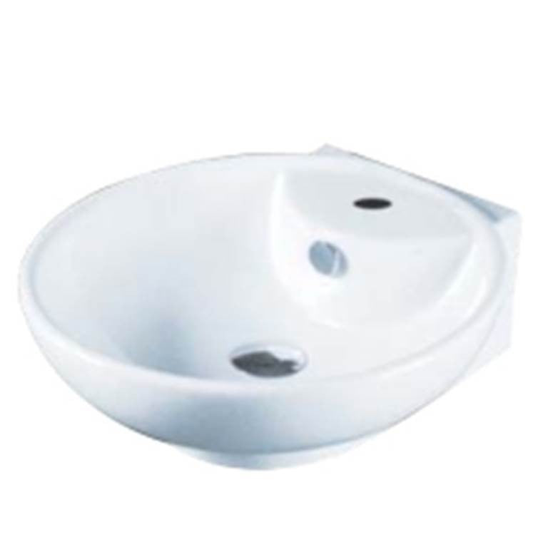 Baron Designer Basin A248 - TOP Mount/ Wall Hung - Domaco