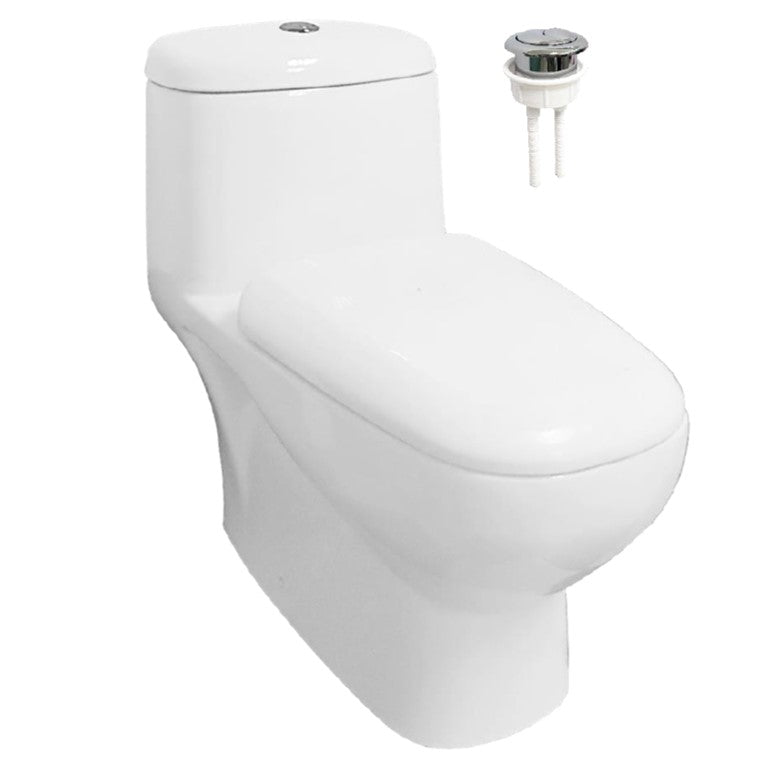 Velin 1-Piece Toilet Bowl A3326 (19800)<br>*Contact us for best price - Domaco