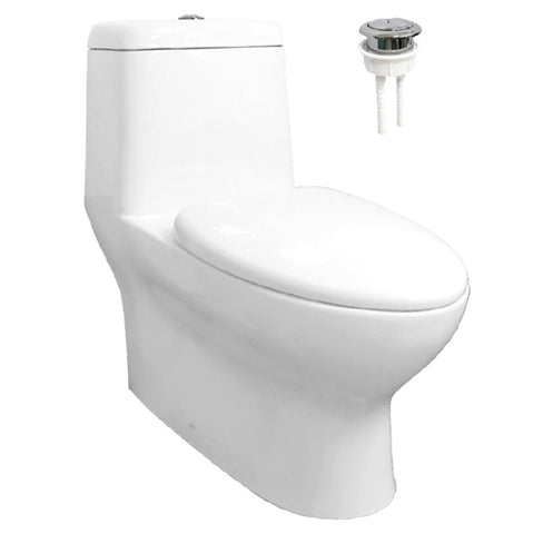 Velin 1-Piece Toilet Bowl A3391 (22800)<br>*Contact us for best price - Domaco