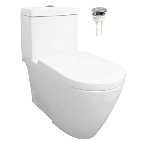 Velin 1-Piece Toilet Bowl A3392 (Geberit Flushing System) (30800)<br>*Contact us for best price - Domaco
