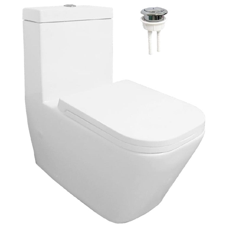 Velin 1-Piece Toilet Bowl A3393 (36800)<br>*Contact us for best price - Domaco
