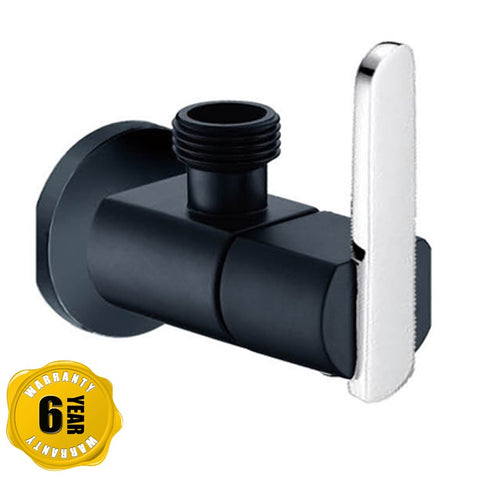 NTL Angle Valve 2024B-C or 2024W-C (Black or White) (2380)<br>*Contact us for best price - Domaco