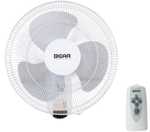 BEAR ESSENTIALS WALL FAN FSW402 - Domaco