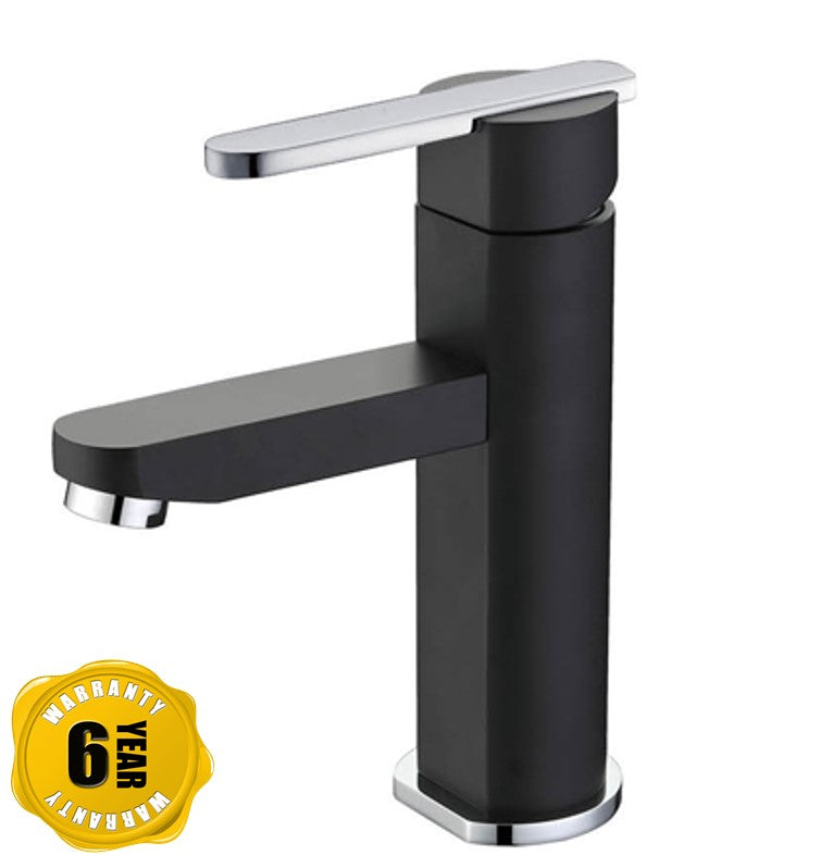 NTL Basin Mixer Tap 2001B or 2001W (Black or White) (12280)<br>*Contact us for best price - Domaco