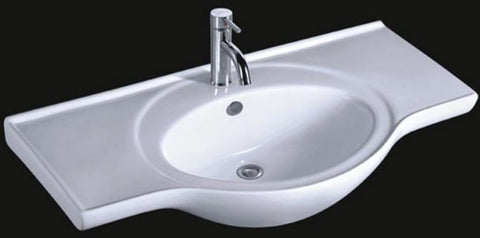 ARINO CB-4050-WT SERIES WALL HUNG VANITY BASIN *Contact us for best price - Domaco