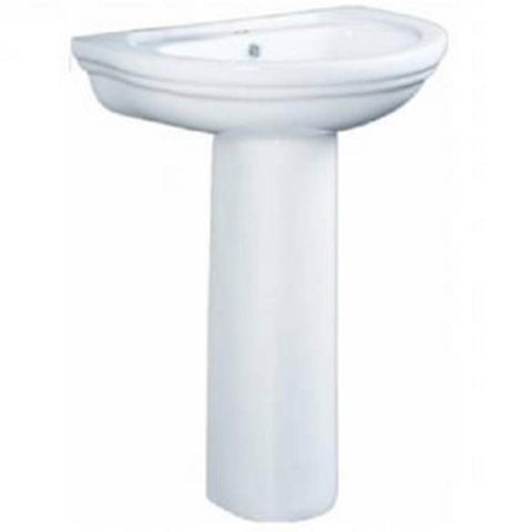 Velin Basin W/Pedestal Stand CB238/L238 (Colours Available) - Domaco