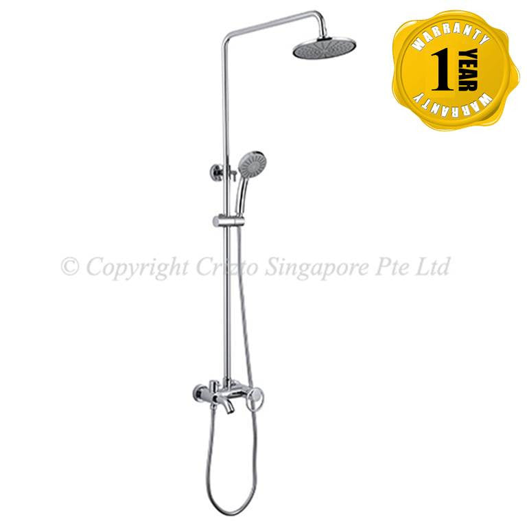 Crizto Rain Shower Mixer CES-1578S-C (22800)<br>*Contact us for best price - Domaco