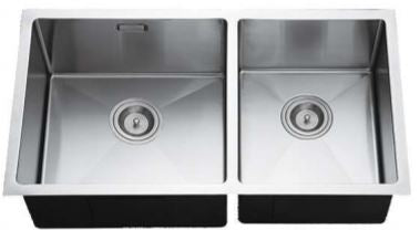 CRIZTO CKS Handmade 2MM Double Stainless Steel Sink - Domaco