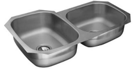 Elkay CS-214 Undermount Stainless Steel Kitchen Sink - Domaco