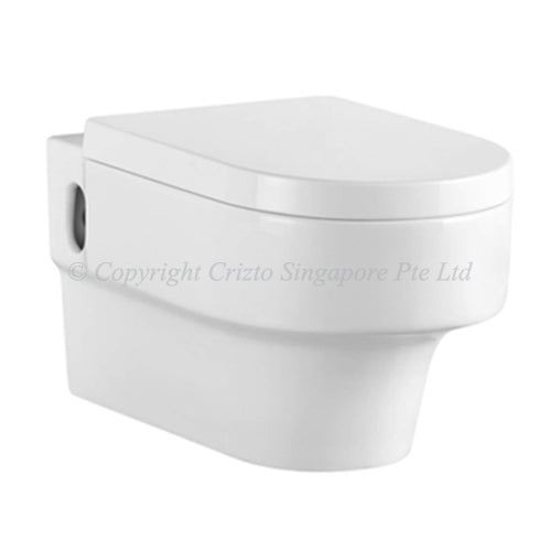 Crizto CWC-WH205-WTP Elbaite Wall Hung WC For Concealed Tank - Domaco