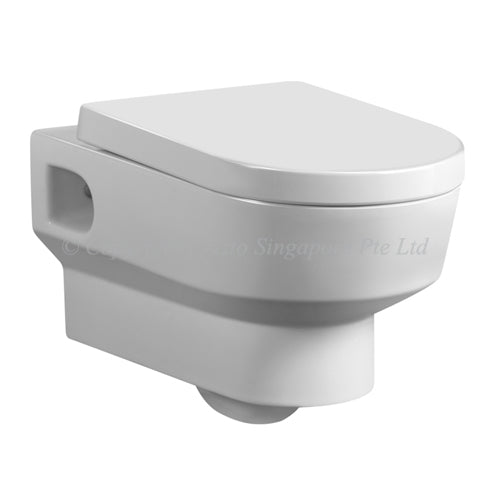 Crizto CWC-WH206-WTP Layered Wall Hung WC For Concealed Tank - Domaco