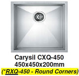 CARYSIL RXQ-450 Kitchen Sink - Domaco