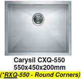 CARYSIL RXQ-550 Kitchen Sink - Domaco