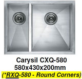 CARYSIL RXQ-580 Kitchen Sink - Domaco