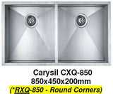 CARYSIL RXQ-850 Kitchen Sink - Domaco